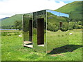 NN4719 : 'Lookout' mirrored box by Elizabeth Angus