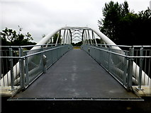 H4473 : Footbridge at Lisanelly by Kenneth  Allen