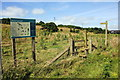 SJ5776 : Stile and footpath to Dutton Farm Park by Jeff Buck