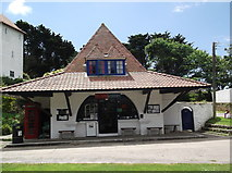 SS1496 : Post office and museum, Caldey Island by andrew auger