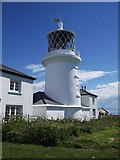 SS1495 : Caldey Island lighthouse by andrew auger