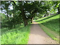 NZ2130 : Path in Auckland Castle Park by Jonathan Thacker