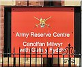 SH7881 : Army Reserve Centre by Gerald England