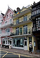SX8751 : Yorkshire Building Society and holiday flats in Dartmouth by Jaggery