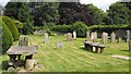 NZ0737 : In the cemetery at Wolsingham by Trevor Littlewood