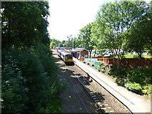 SJ9588 : Marple,Rose Hill railway station by Raymond Knapman