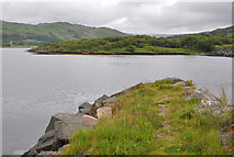 NM7908 : Breakwater, Craobh Haven harbour by Stuart Wilding
