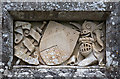 M5435 : The Ffrench Mausoleum, Monivea, Galway - detail by Mike Searle