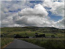 SK1679 : White Peak District skies by Steve  Fareham