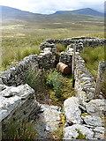 SH7942 : The disused sheepdip at Cefngarw by Richard Law
