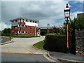 SX9193 : Danes Castle Community Fire Station, Exeter by Chris Allen