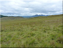 SH7541 : Across moorland to the Moelwyns by Richard Law