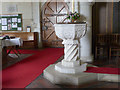 SU6396 : Church of St Mary, Chalgrove - the font by Alan Murray-Rust