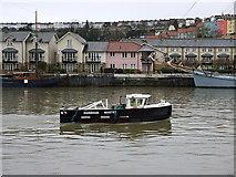 ST5772 : Bristol boats 6 by Anthony O'Neil