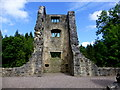 H1859 : Castle tower, Old Castle Archdale by Kenneth  Allen
