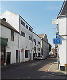 SY6778 : Unsuitable route for long or wide vehicles in Weymouth by Jaggery