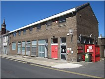 NU0052 : Royal Mail delivery office, Berwick-upon-Tweed by Graham Robson