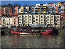 ST5772 : Bristol boats 24 by Anthony O'Neil