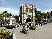 TL8564 : Abbey Gate, Bury St Edmunds by David Gearing