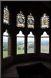 SO7466 : Oriel window, Abberley Clock Tower by Philip Halling