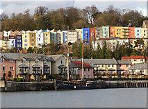 ST5772 : Bristol boats 46 by Anthony O'Neil