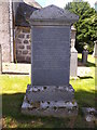 NJ5516 : One of several Murray family graves in Alford West Kirkyard by Stanley Howe