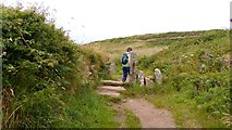 SW4538 : Joining the SW Coastal path near Zennor by AlastairG