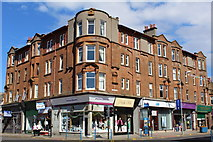 NS3231 : Corner of Portland Street & Ayr Street, Troon by Leslie Barrie