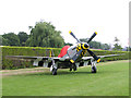 TM2690 : A Mustang P-51D fighter aircraft by Evelyn Simak
