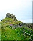 NU1341 : Lindisfarne Castle Holy Island by Peter Skynner