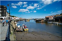 NZ8911 : Whitby Outer Harbour by Peter Skynner
