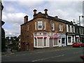 NS6960 : The corner of Gardenside Street and Main Street, Uddingston by Elliott Simpson