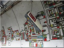 TQ2981 : Tottenham Court Road tube station - Paolozzi mosaic, Northern Line (9) by Mike Quinn