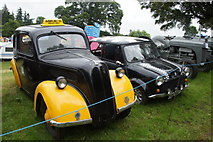 NO3847 : Mikie's taxi at the Scottish Transport Extravaganza, Glamis Castle by Mike Pennington