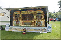 NO3847 : Automatic organ at the Scottish Transport Extravaganza, Glamis Castle by Mike Pennington