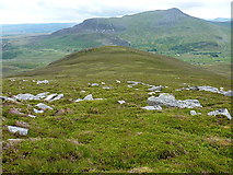 SH8241 : The southern ridge of Arenig Fach by Richard Law