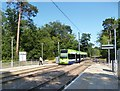 TQ3564 : Tram at Coombe Lane by Des Blenkinsopp