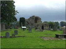 NJ0661 : Kinloss Abbey by JThomas