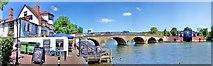 SU7682 : The Bridge : Henley-on-Thames by Len Williams