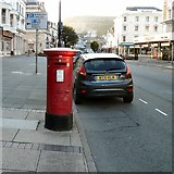 SH7882 : GR postbox LL30 6 by Gerald England