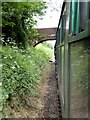 SU6132 : Mid-Hants Railway, Bighton Lane Bridge by David Dixon