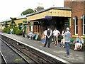 SU6232 : Mid-Hants Railway, Ropley Station Platform 2 by David Dixon