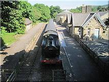 SD8789 : Hawes railway station (site), Yorkshire by Nigel Thompson