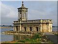 SK9306 : Normanton Church, Rutland Water by Paul Harrop