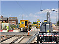 SK5636 : Specialist vehicles at Wilford Lane by Alan Murray-Rust