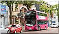 J3372 : Magenta bus, Belfast (July 2014) by Albert Bridge