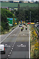 SO6025 : A40 roundabout at Ross on Wye by John Winder