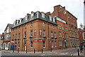 SK5804 : Castle Park Hotel at Millstone Lane / Berridge Street junction by Roger Templeman