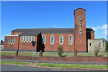 NS4761 : St Peter's Catholic Church, Paisley by Leslie Barrie