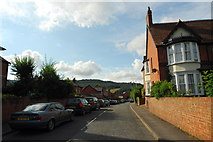 SO6024 : Camp Road, Ross on Wye by John Winder